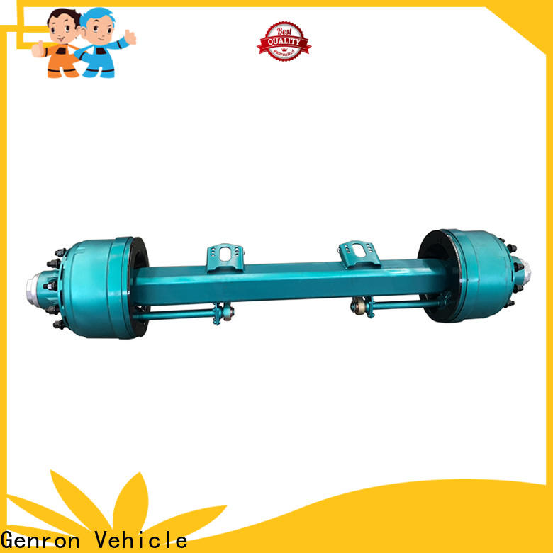 factory price travel trailer axles supplier for promotion