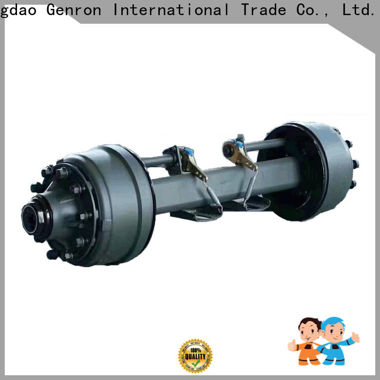 Genron top quality square tube axles company bulk buy