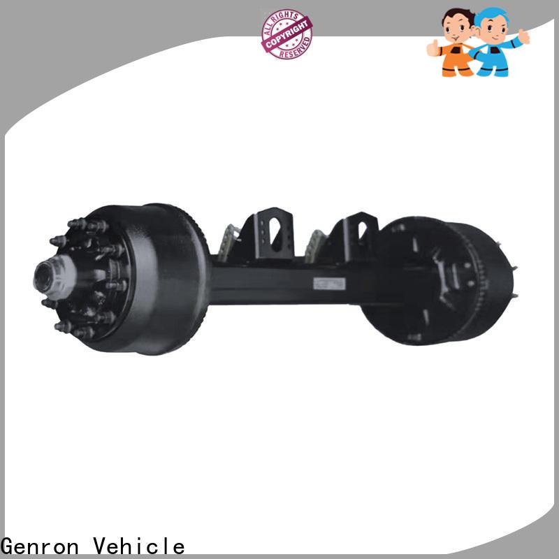 Genron hot-sale rv trailer axles series bulk production