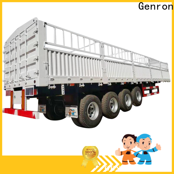 latest best quality cargo trailers factory for promotion