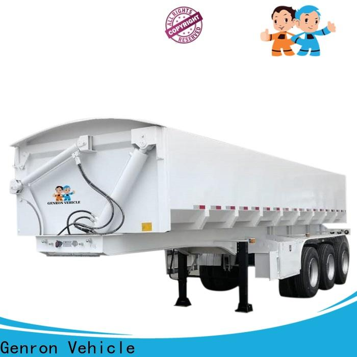 Genron quality dump trailers supply for truck