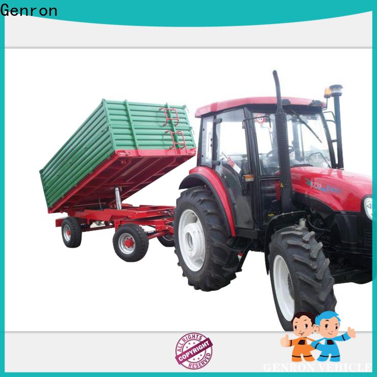 Genron side dump trailer best supplier for truck