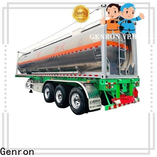 Genron cement trailer for sale suppliers bulk production