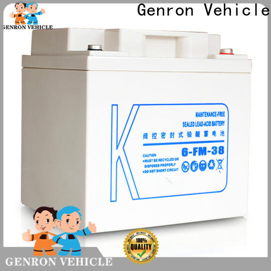 Genron heavy duty truck battery from China bulk production