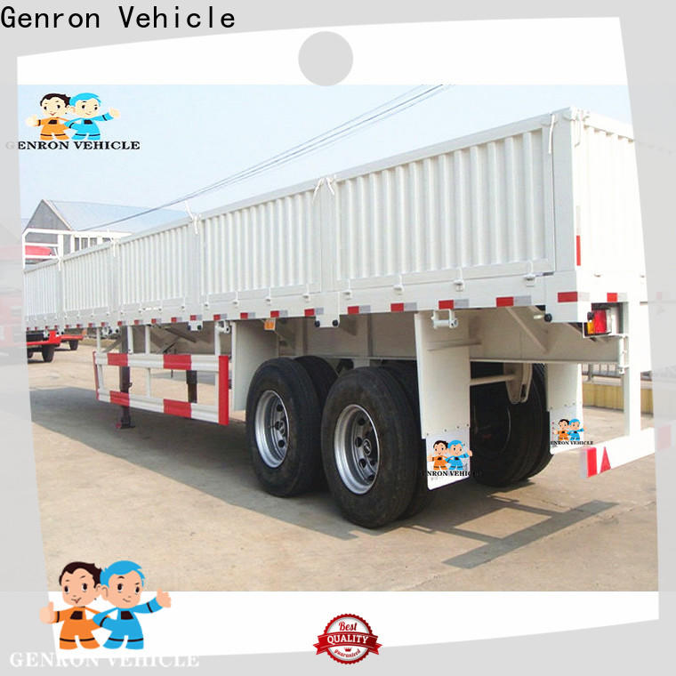 Genron durable cargo craft trailers directly sale bulk buy