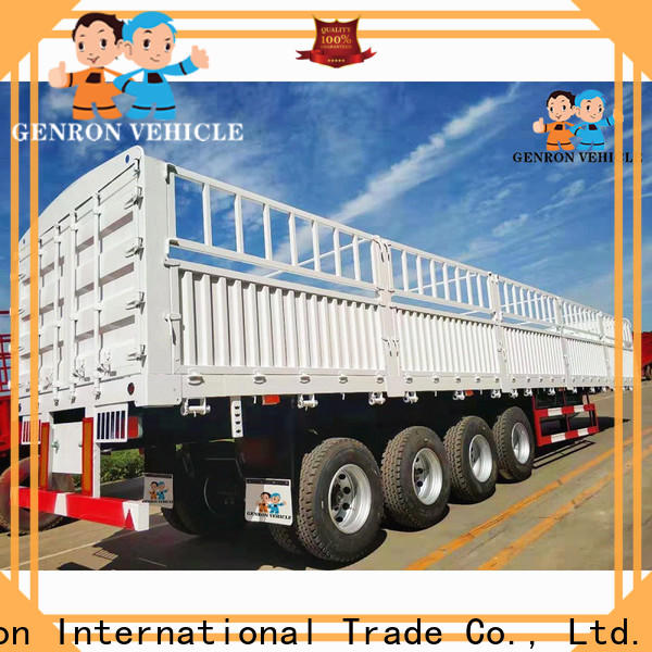 Genron popular trailer cargo from China on sale