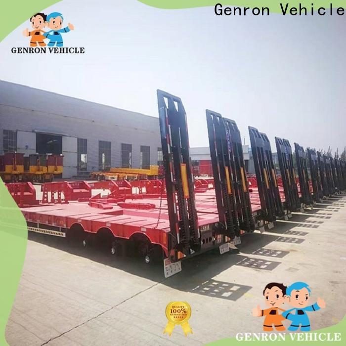 factory price truck low bed trailer from China for sale