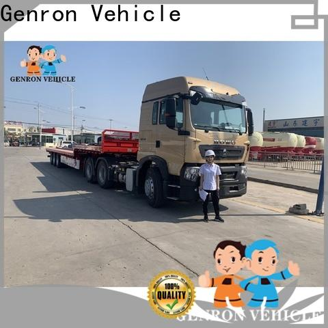 high quality 3 axle container semi trailer factory direct supply for transport goods