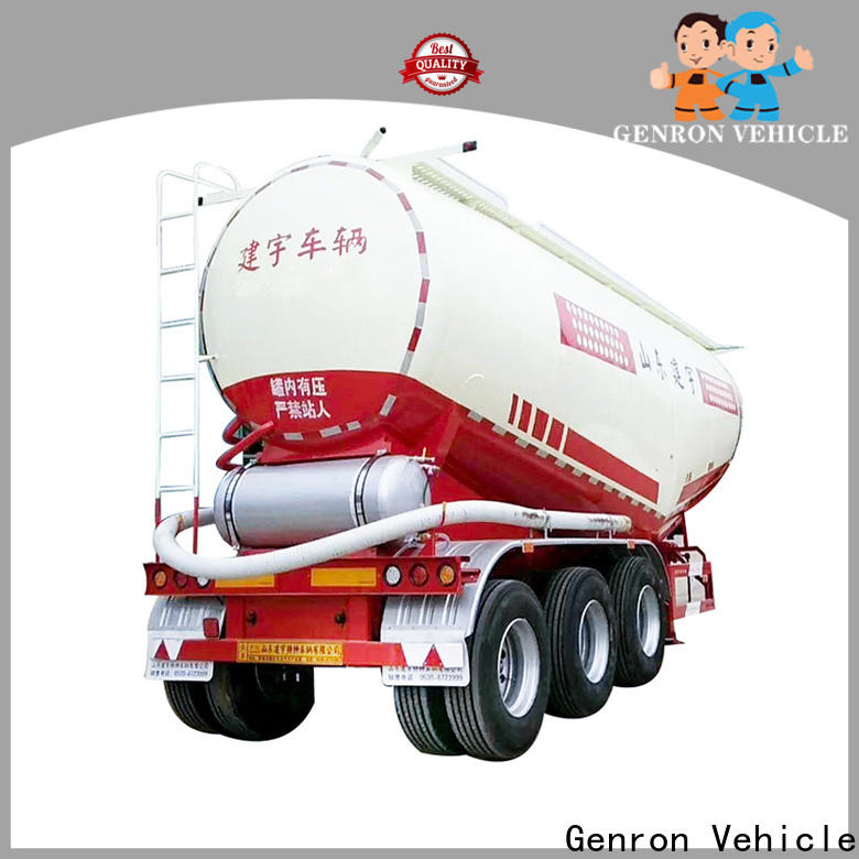 Genron high-quality fuel transport trailers for sale best supplier on sale