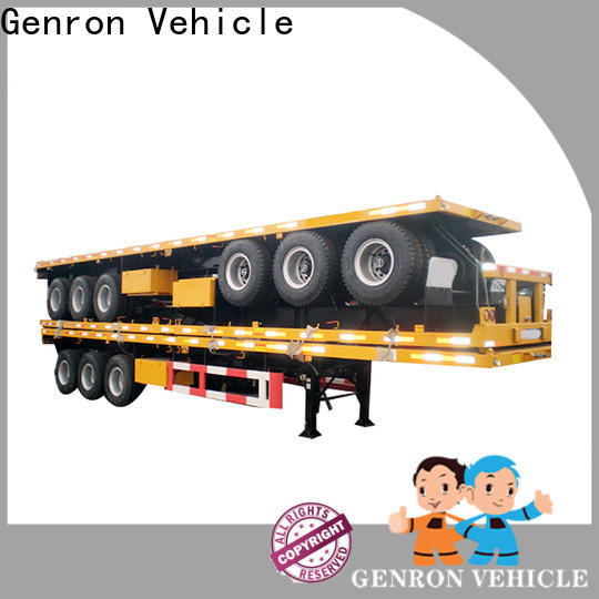 Genron container transport semi trailer with good price bulk buy