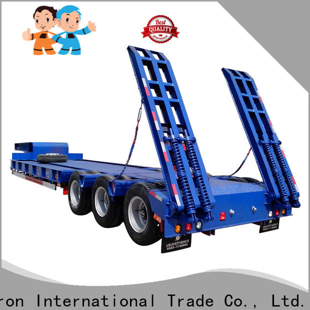 custom low bed trailer best supplier for sale