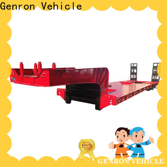 Genron quality low base trailer wholesale on sale