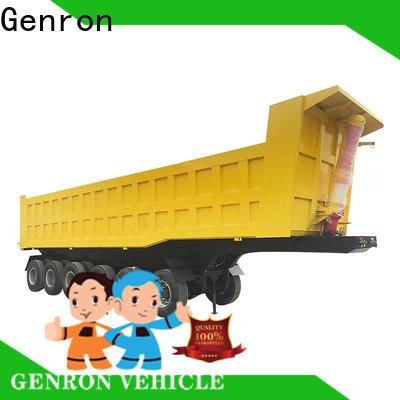Genron professional side tipper semi trailer inquire now bulk buy