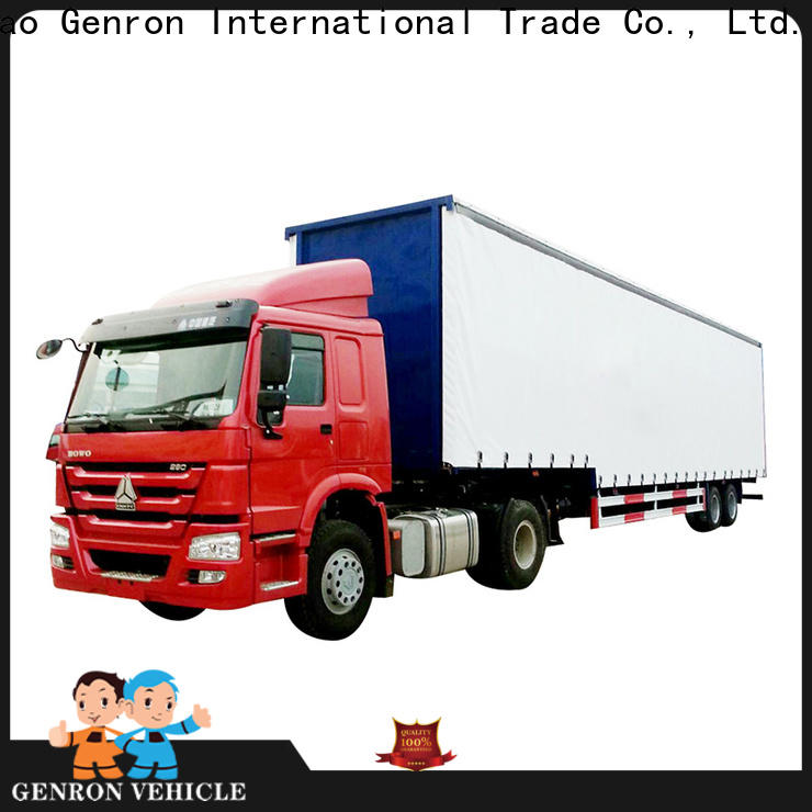 Genron popular semi box trailers for sale series bulk buy