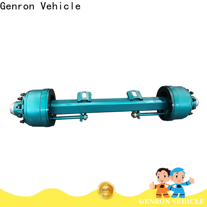 Genron semi trailer axles suppliers for vehicle