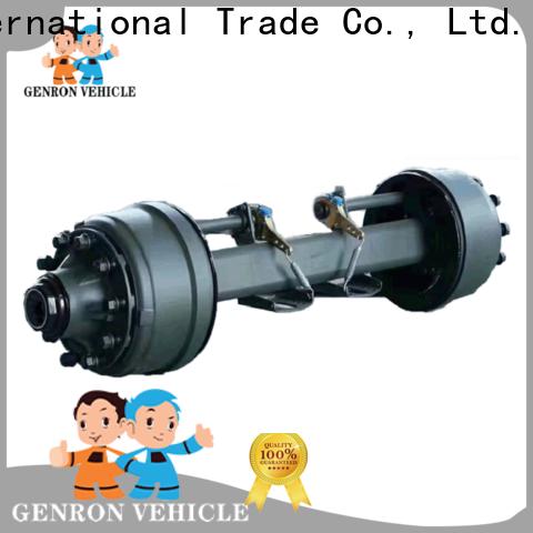 Genron best cargo trailer axles for sale best supplier for promotion