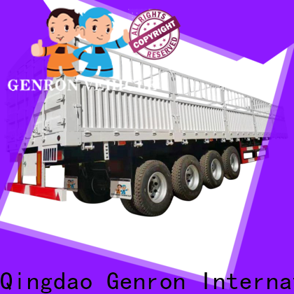 Genron quality bulk grain trailer best manufacturer for transport