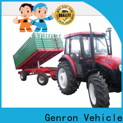 Genron side tipper semi trailer with good price for sale