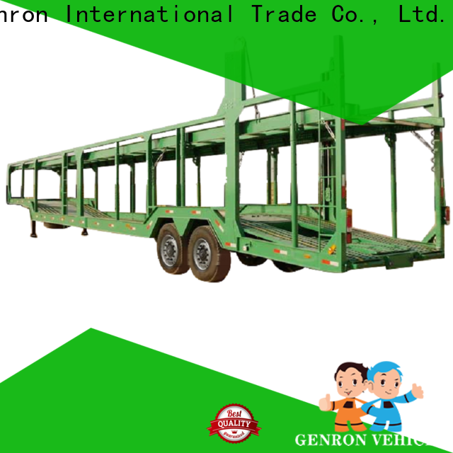 custom car carrier trailer for sale from China for promotion
