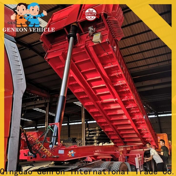 latest rear dump trailer from China for trailer