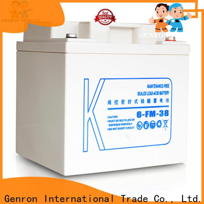 Genron new small truck batteries manufacturer bulk production