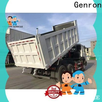 Genron top second hand truck trailers suppliers with high cost performance