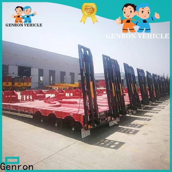 quality low bed trailer supply for promotion