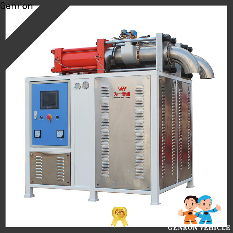 Genron reliable dry ice block machine factory bulk buy