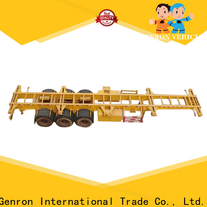 best price container carrier trailer directly sale for transport