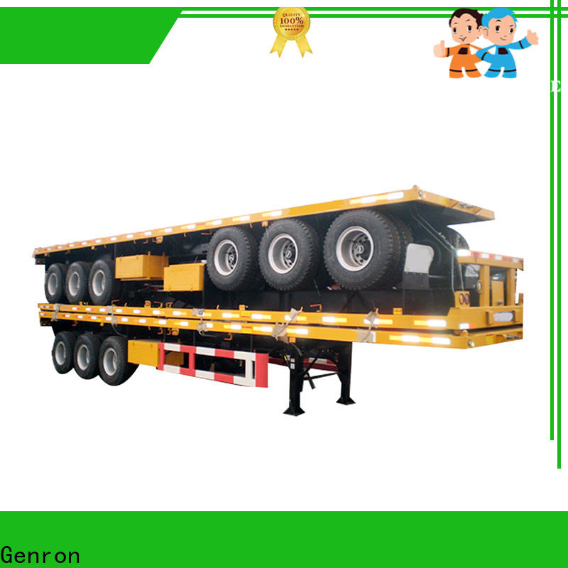 worldwide container semi trailer company for transport