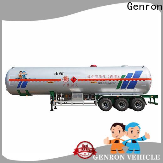 Genron oil tank trailer factory on sale