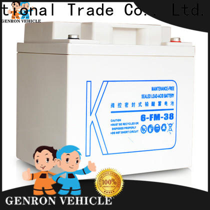 Genron best heavy duty truck battery from China with high cost performance