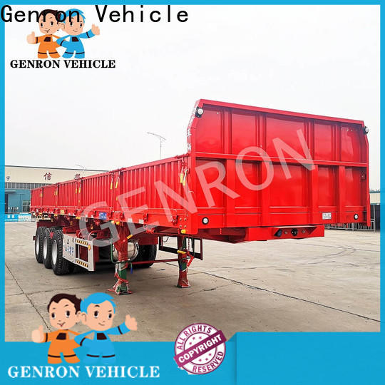 Genron large cargo trailer factory bulk production