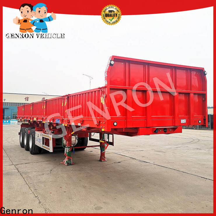 Genron cost-effective best rated cargo trailers manufacturer for sale