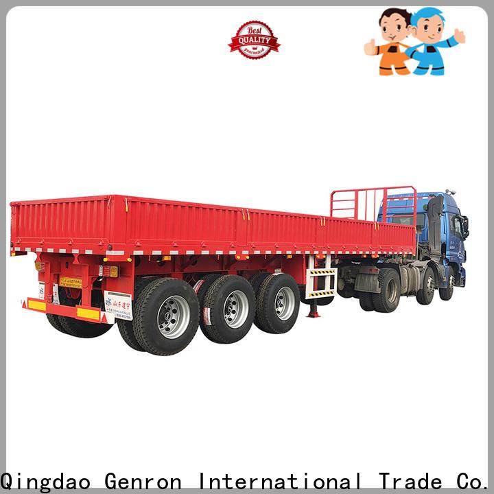 Genron cost-effective cargo craft trailers series bulk buy